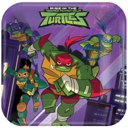 Ninja Turtles Squared Dessert Plates