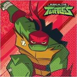 Tovaglioli Tartarughe Ninja Rise of Teenage Mutant