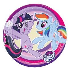 My Little Pony Dessert Plates