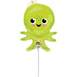 Silly Octopus Minishape Foil Balloon