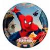 Spiderman Dessert Plates