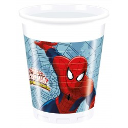 Spiderman Web Warriors Plastic Cups