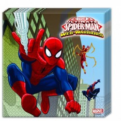 Spiderman Web Warriors Lunch Napkins