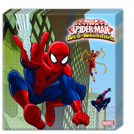 Tovaglioli Spiderman Web Warriors