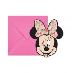 Minnie Tropical Party Invitations