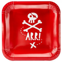 Pirate's Party Plates