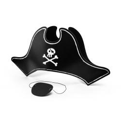 Set Cappello e Benda Pirata