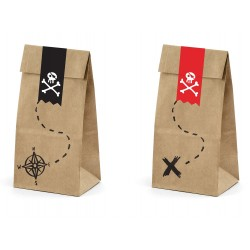 Pirates Treat Bags with Stickers
