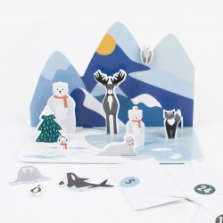 Polar Animals Advent Calendar