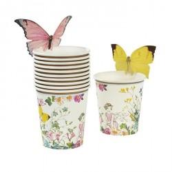 Bicchieri Fatine con Farfalle