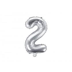 2 Silver Foil Balloon