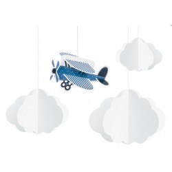 Little Plane Hanging decoration Set