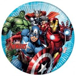 Piatti per festa Avengers