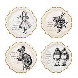 Truly Alice Assorted Plates