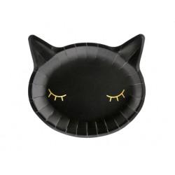 Black Kitten Plates