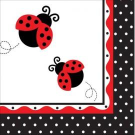 Ladybug Lunch Napkins