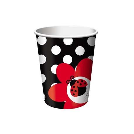 Bicchieri Coccinelle 266ml 8pz