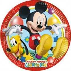 Mickey Club House Plates