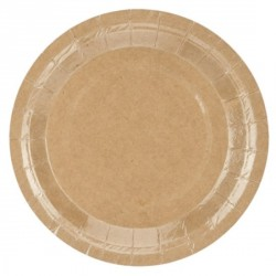 Kraft Paper Desser Plates