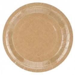 Kraft Paper Dessert Plates