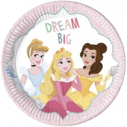 Disney Princess Plates Dare to Dream