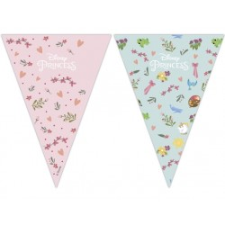 Disney Princess Flags Banner