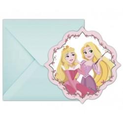 Biglietti Inviti Compleanno Principesse Disney