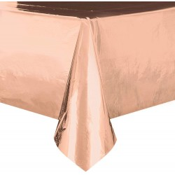 Rose Gold Foil Tablecover
