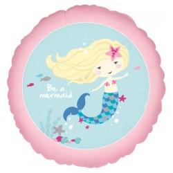 Be a Mermaid Foil Balloon