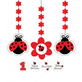 Ladybug Hanging Cutouts