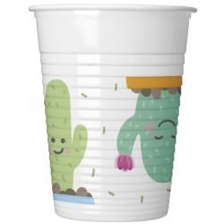 Cactus plastic cups