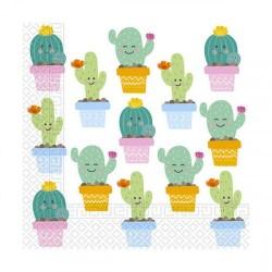 Tovaglioli per festa tema Cactus