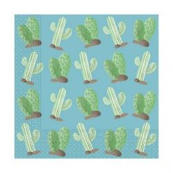 Llama party paper napkins