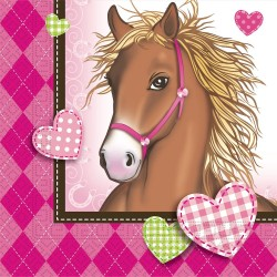 Horses Party Napkins