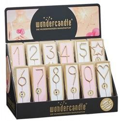Candelina Scintillanti Oro Wondercandle
