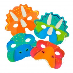 Set maschere Dinosauri