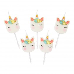 Unicorn Mini Candles