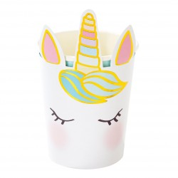 Unicorn Face Cups