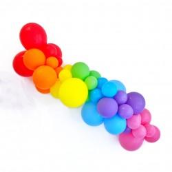 Rainbow Balloon Garland Kit