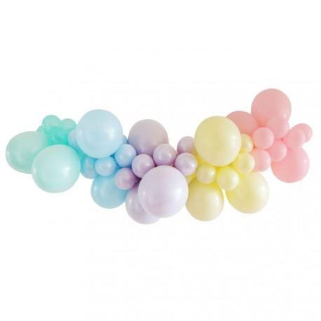 Pastel Perfection Balloon Garland Kit
