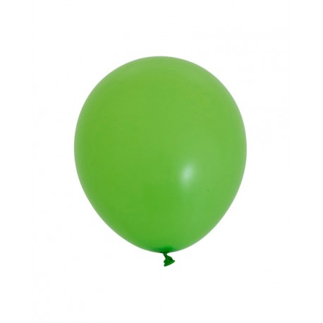 Bright Green Standard Balloons 5pc