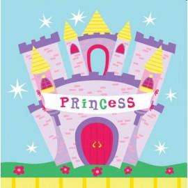 Tovaglioli Castello Principessa 33x33cm 16pz