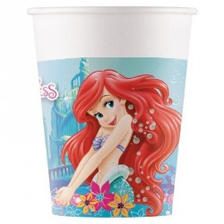 Ariel Mermaid Party Cups