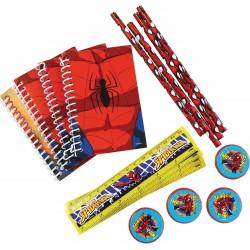 Spiderman Favour Pack 16 pieces