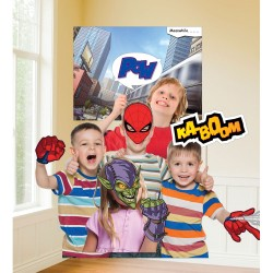 Spiderman Photo Booth Set