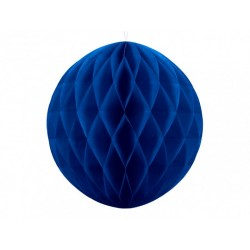Navy Blue Honeycomb Ball 30cm