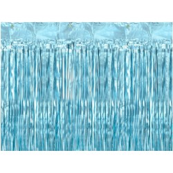 Light Blue Party Curtain