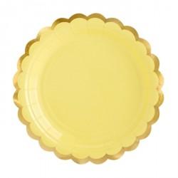 Coordinato tavola festa Giallo e Oro