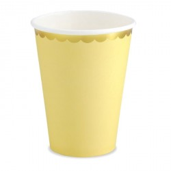Yellow and Gold Cups