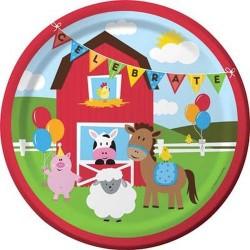 Farmhouse Fun Party Plates